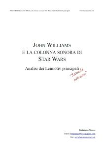 Trucco Beniamino - John Williams e la colonna sonora di Star Wars. Analisi dei Leitmotiv principali